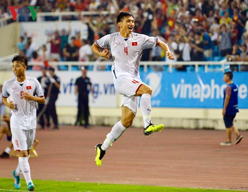 tuong thuat olympic viet nam 1-0 olympic oman hinh 1